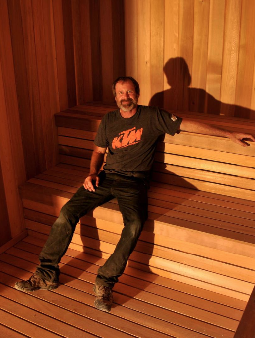Kurt Gibson, Master Carpenter, GC Sauna Shop